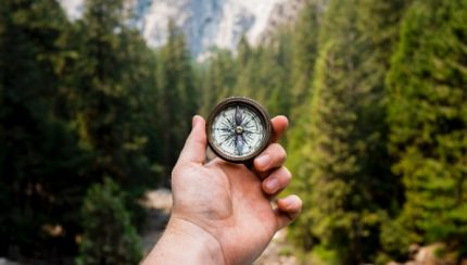como orientarnos en la montaña