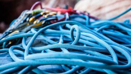 como funciona la cuerda de escalada