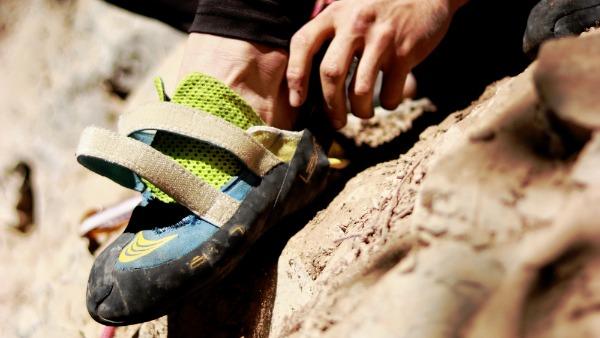 que zapatillas usar para ir a escalar