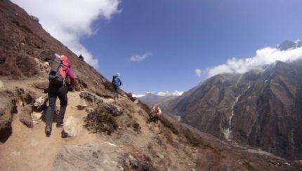 lesiones comunes en el trekking y qué hacer